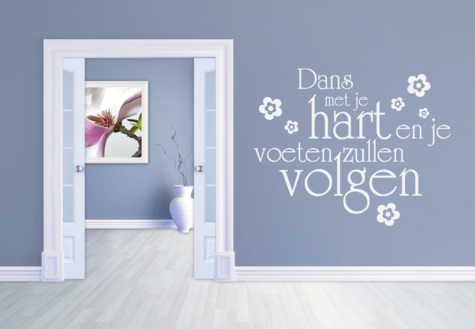Decorative Wall Art Vinyl Wall Stickers Flowers Quotes Decals Removable Home Decor