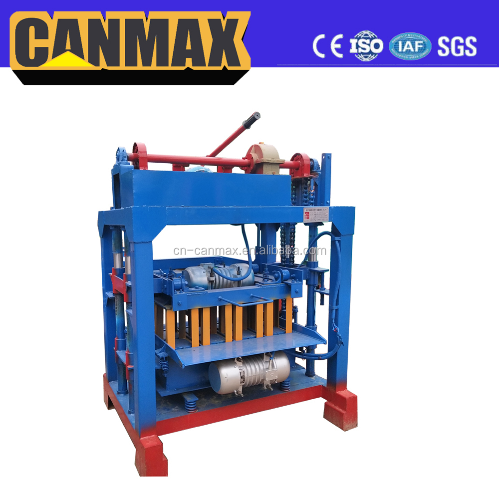 china block machine / high quality block machine machine / issb brick machine