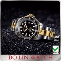 STOCK Dive watch 1000 meters water resistant full stainless steel quality ceramic bezel Japan automatic movement