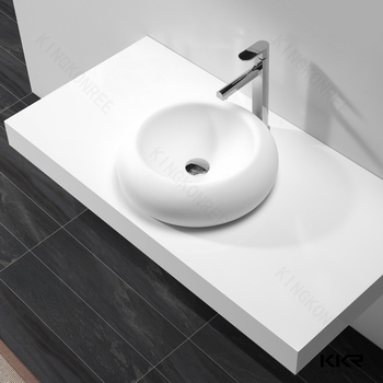 Quartz Stone Basin Faucet,Acrylic Solid Surface Bathroom Basin ...
