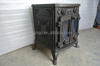 Rear Flue Wood Stove