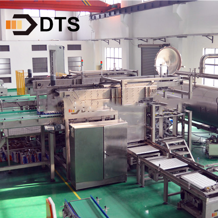 Shanghai DTS loader and unloader canned food packaging machine