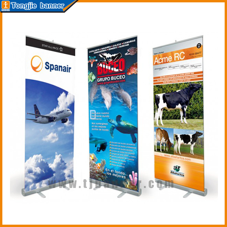 Hot New Products bamboo roll up stand banner for sale