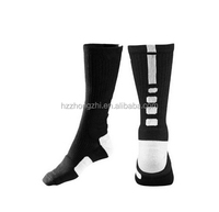 Newest men compression socks sport cotton basketball socks