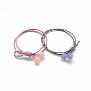 High quality jelly Small square hair band for young girl
