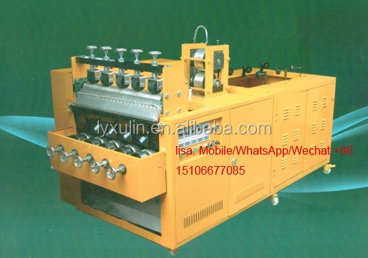 China factory made automatic 5 wires 5 balls stainless steel scrubber making machine/automatic weaving machine