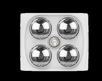 Proyum Ceiling Mounted Bathroom Infrared Heat Vent Fan Light Hfl