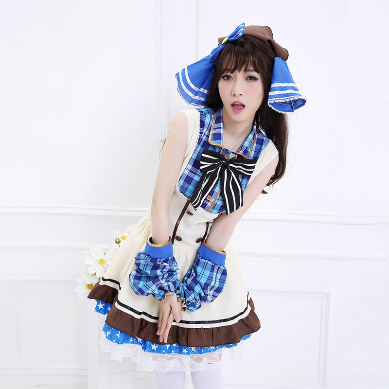 Love Live School Idol Project Umi Sonoda Cosplay Costume