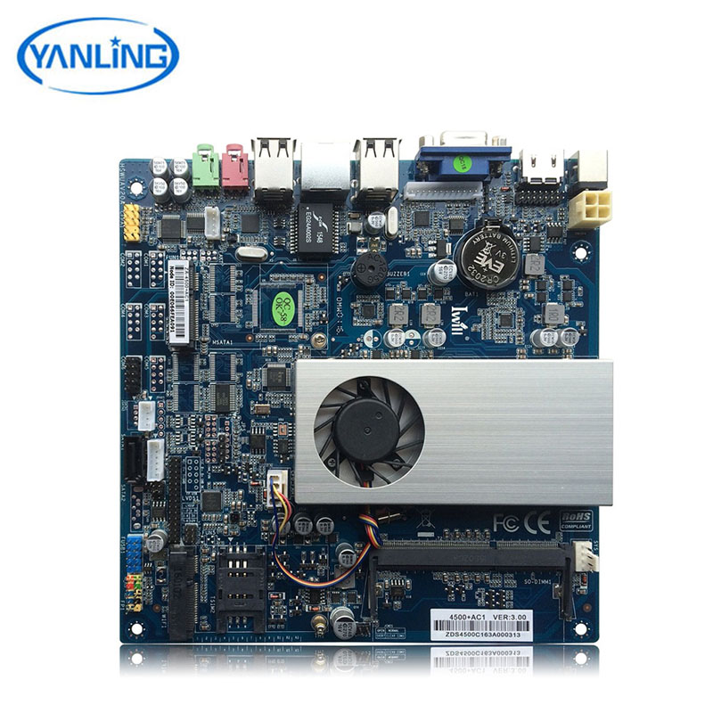 Intel Core i5 4200U dual core slim mini-itx network epic motherboard with sim slot vga lvds port