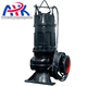 wq series sewage wastewater centrifugal low capacity slurry electric vertical sump sludge pump