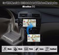 Hotspot Mirabox Smart mirrorcast box for online navigation and screen mirroring