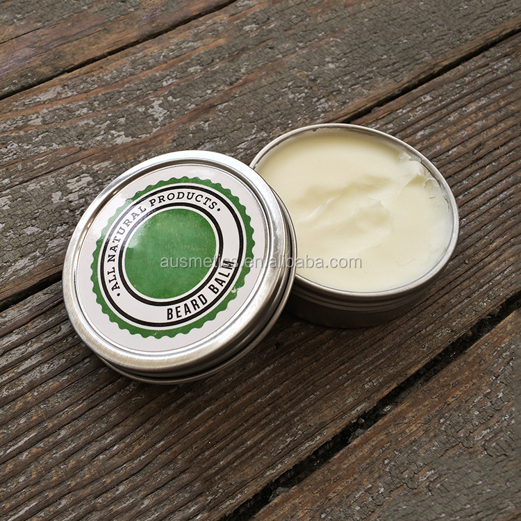 Private label welcome OEM fragrant beard balm natural mens styling wax for beard