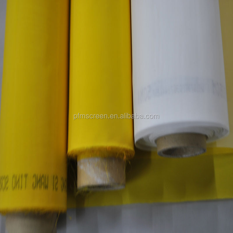 Polyester Silk Mesh / Bolting Cloth / 13T-165 Polyester Screen Printing Mesh