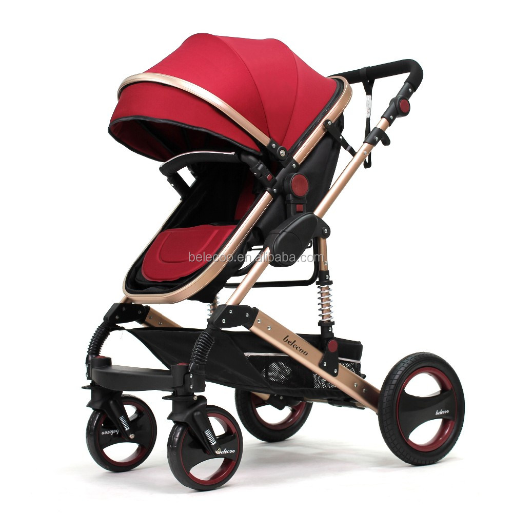 Belecoo Brand China baby stroller best seller 535-Q3 baby pram 3 in 1 with EN1888