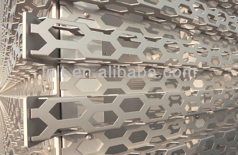 Micro Perforated Aluminum Building Materials Corrugated