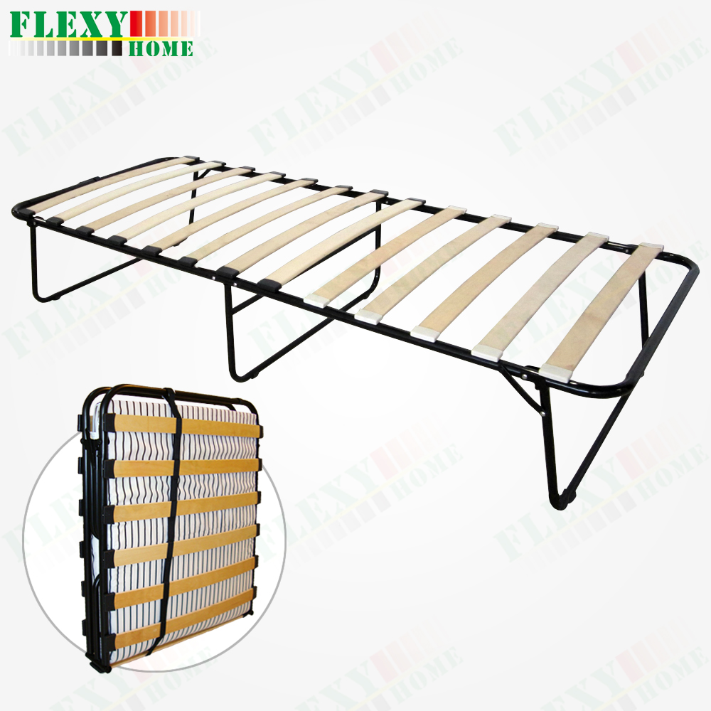 simple but comfortable folding bed (hotel bed frame) (guest bed)