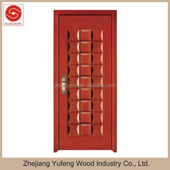 Solid Single Wooden Front Door Mdf Frames Design Buy Single Wooden