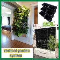 garden decoration indoor herb pots artificial vertical garden