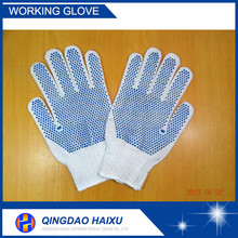 work gloves with pvc dot ,pvc dotted palm gloves,pvc coated gloves