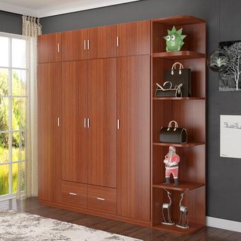 Wardrobe Movable Armoire Closet Cabinet