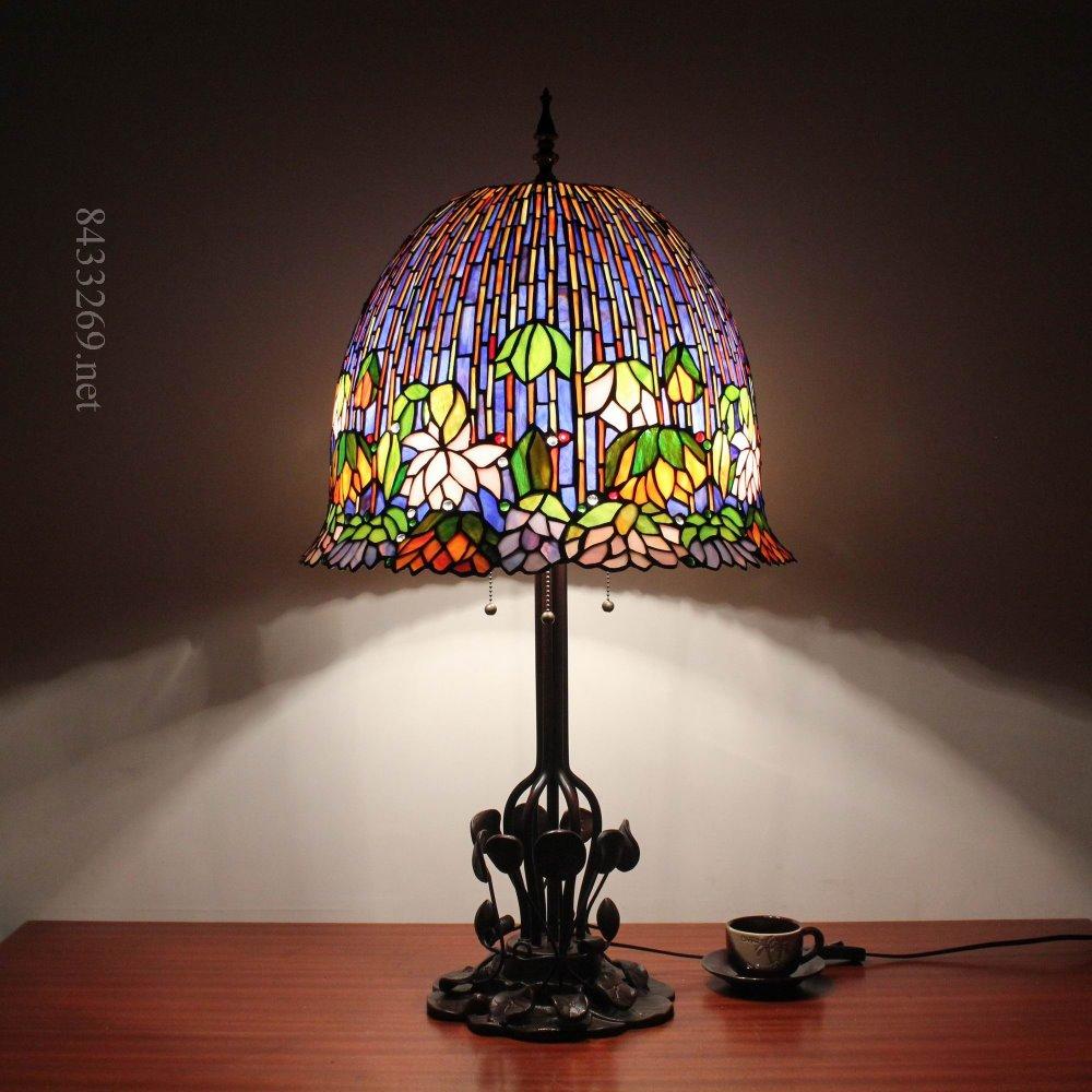 China Tiffany Lotus Lamp Wholesale Alibaba