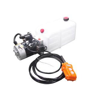 tipper trailer system bobcat hydraulic travel motor power pack