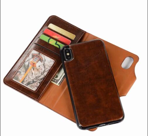 Telefoon accessoires flip pu lederen mobiele telefoon casefor iphone 6 78 PLUS, wallet cover voor iphone X XS Max XR s8 s9 leather case