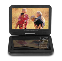 "10.1"" Portable DVD Player, 4 Hour Rechargeable Battery, Swivel Screen, Supports SD Card and USB, Direct Play in Formats AVI/MP4"