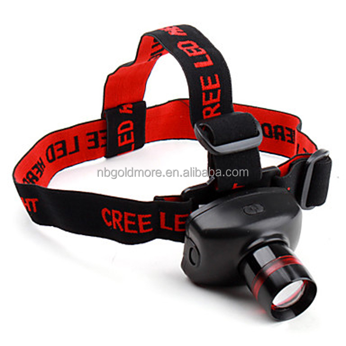 ,adjustable zoomable industrial head lamp for camping,led fishing light,led headlamp