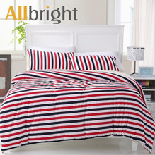 ALLBRIGHT textile home 100% cotton quilts bedding set knitted yarn