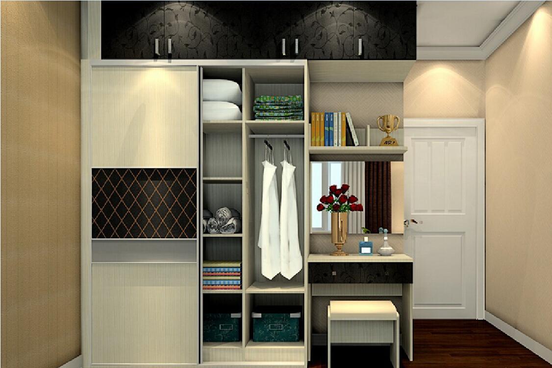 Modern Wardrobe With Dressing Table Designs Foshan ...