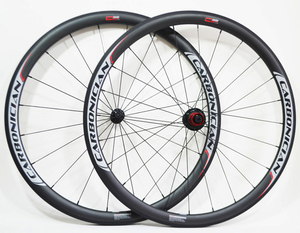 Carbonician handbuild PRO basalt brake track 20/24 QR UD matt 38mm clincher carbon bike wheelsets