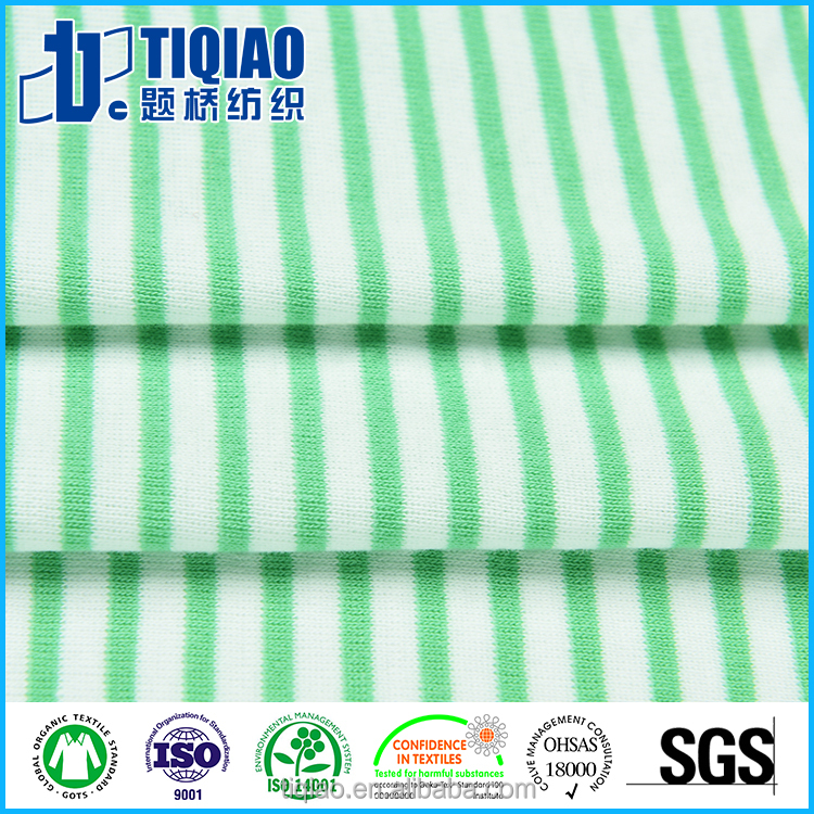 1x1 rib knit fabric collar fabric color customerized striped ribbing