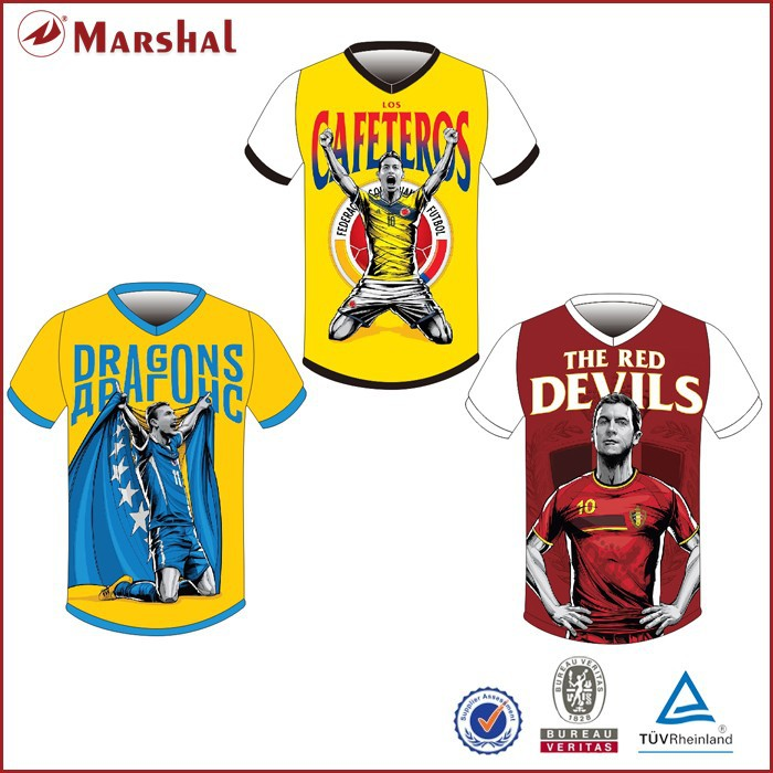 Full dye sublimation soccer uniform cheap wholesale sports jerseys