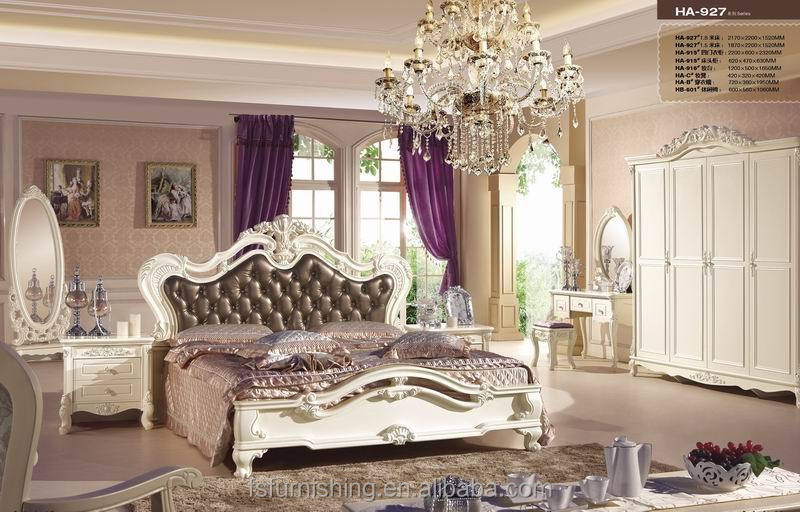 jhy927 italian french antique furniture bedroom set new