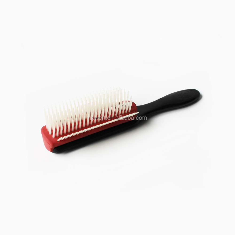 Plastic Paddle oval vent all purpose massage home salon use easy cleaning detachable professional hairbrush hair brush