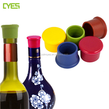 Wholesale Custom Logo Printing No Smell Silicone Beer Bottle Caps Wine Stoppers