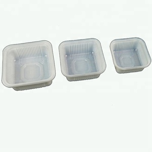 Food grade disposable blister mooncake plastic packaging tray