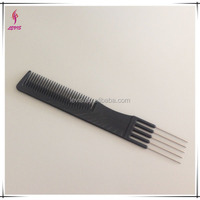 black professional carbon fiber hair styling comb