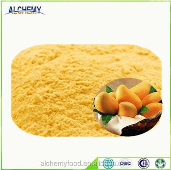 Instant Fruit Juice Powder Freeze Dried Mango Powder