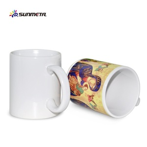 11oz /6oz Blank mugs for sublimation cheap price from yiwu SMT factory