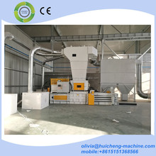 Automatic paper baling machine/waste paper compressor machine/CE certified recycling PET bottle plastic compression machine