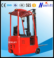 low price electric forklift truck/ widely used 1 ton forklift/ fork lifter for sale 1ton 1.5ton 3-wheel electric forklift truck