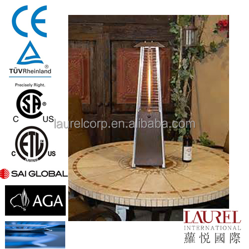 Table Top Quarz Glass Tube Natural Gas Patio Heater