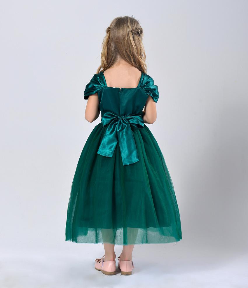 Schöne Mädchen prinzessin tutu Kleid weiß mädchen kleid mit gürtel ...