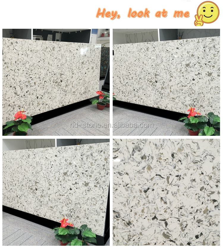 Largest Size Artificial Stone Quartz Slab for Flooring Tiles