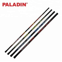 PALADIN 3m / 4m / 5m / 6m Fiberglass Fishing Rods / Poles with Floats and Leader line Hooks for Bream Roach Fishing