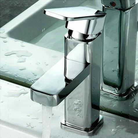 bathroom sink basin mixer tap chrome polished brass faucet bf 012 robinet lavabo automatique. Black Bedroom Furniture Sets. Home Design Ideas