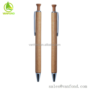 China Business Gift ECO Friendly Material Nature Wood Pen Wholesale