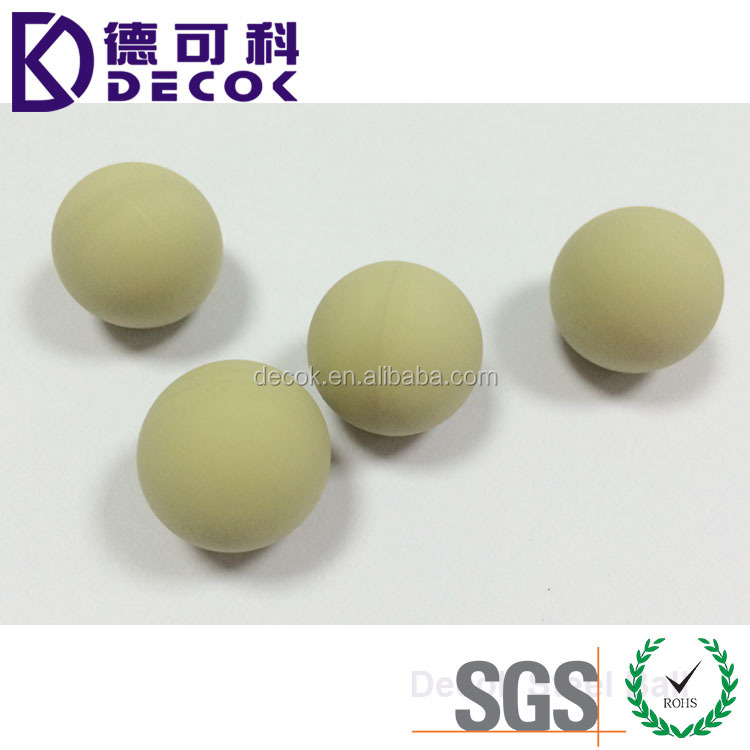 Rubber product manufacturers seamless silicone rubber ball